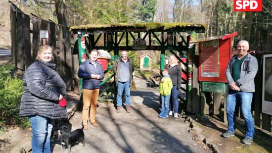 Besuch Maerchengrund Riethig